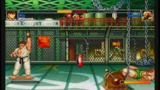 Super Street Fighter II Turbo HD Remix Ryu Playthrough 1