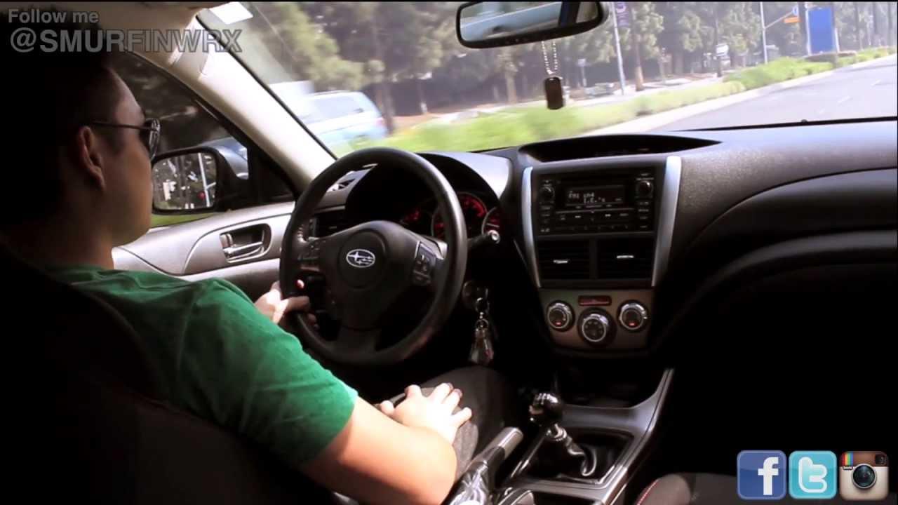 Subaru WRX Acceleration and Cobb Intake Sound BPV BOV Sound