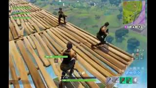 Fortnite - Stairway to heaven strategy