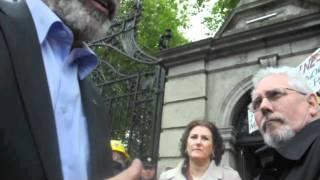ACCAI PROTEST DÁIL ÉIREANN 14th Sept 2011