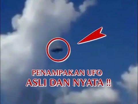 """VIDEO PENAMPAKAN UFO """"ASLI DAN NYATA DI DUNIA"""" PENAMPAKAN ..."""