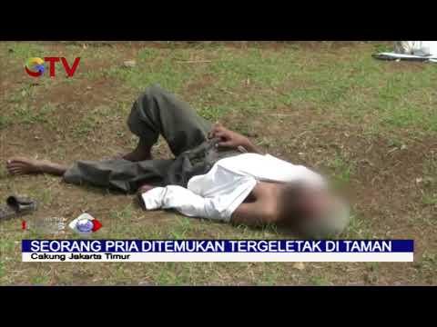 Suhu Tubuh 40 Derajat Celcius, Pria Tua Ditemukan Tergeletak Di Taman Kawasan Cakung - BIM 30/03