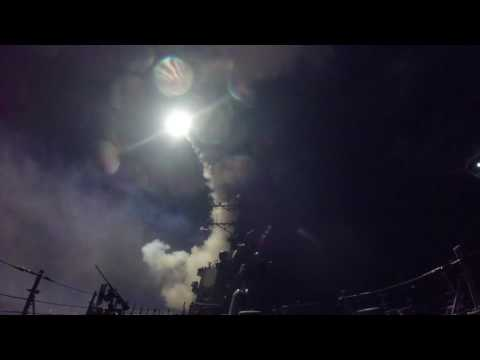 US launches missiles against Assad after chemical attacks