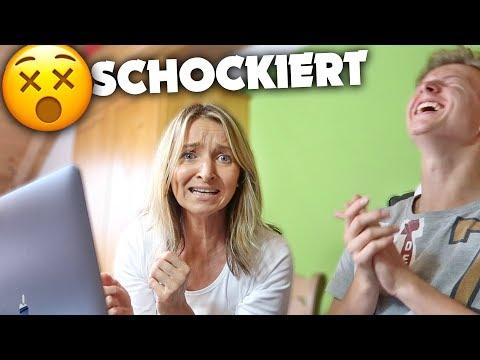 So EXTREM reagiert meine MOM auf dieses VIDEO