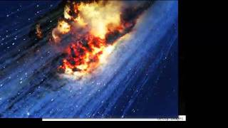 Satellite Falling Down Rescue Signal