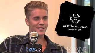 Justin Bieber Announces New Song What Do You Mean
