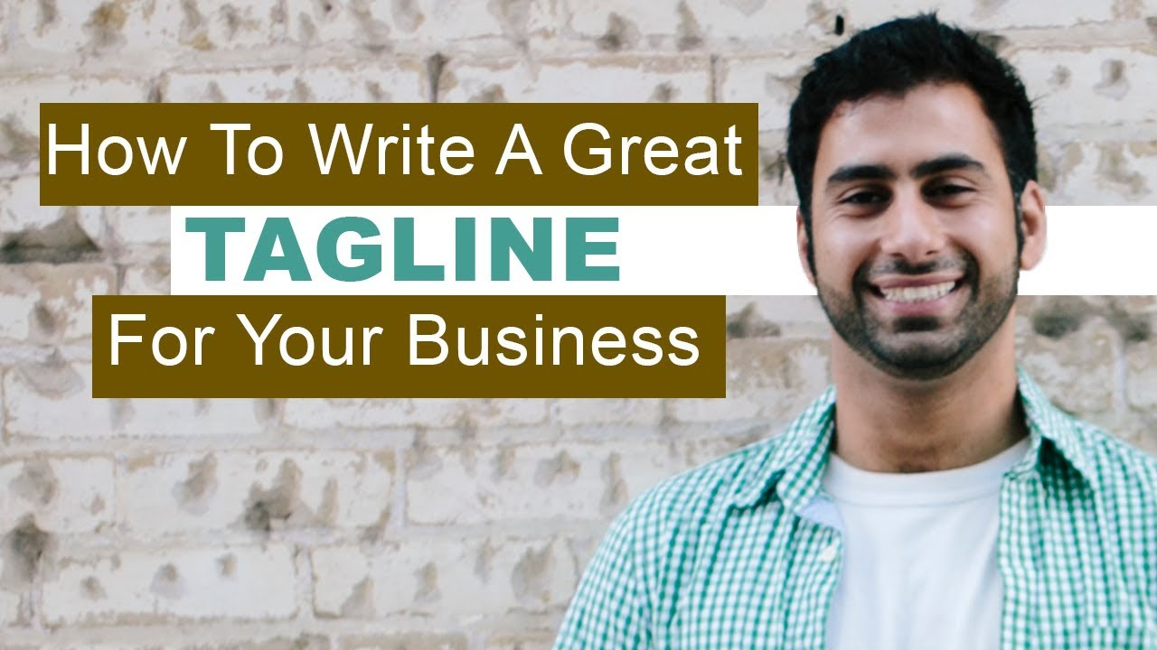 How To Create A Great Tagline For Your Business (w/ Examples)