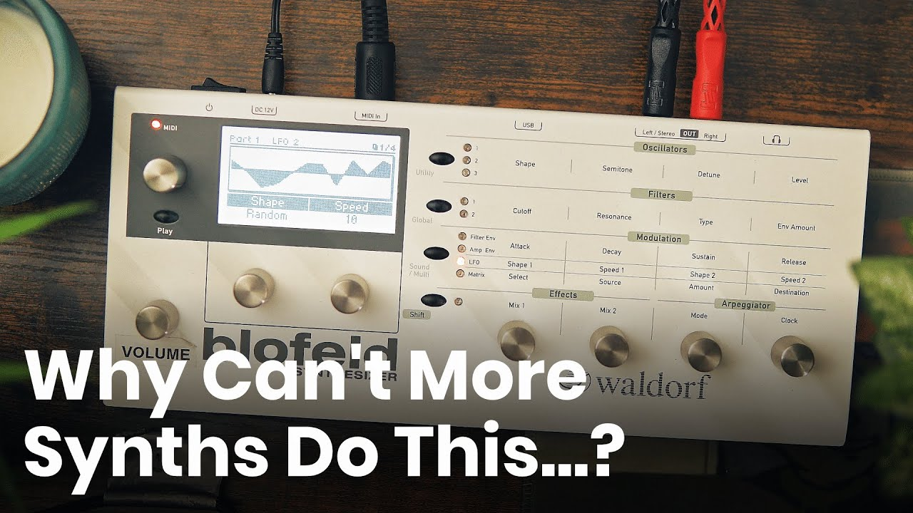 Why Can't More Synths Do This? 🤔 | Another Waldorf Blofeld Love Letter