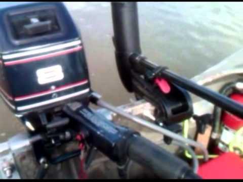 1996 Evinrude Outboard Motor 8hp 2 Cylinder On Irvine
