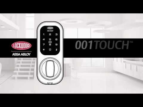 Lockwood 001TOUCH™ Keyless Digital Deadlatch - Installation Guide