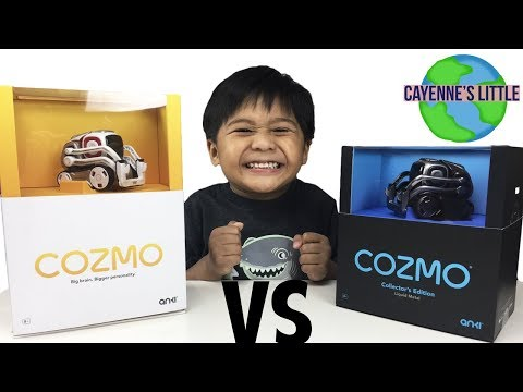 COZMO fights Liquid Metal Collector's Edition COZMO!