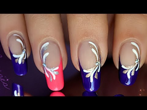 Nail art facile 100 vernis au liner youtube - Nail art facile et rapide ...