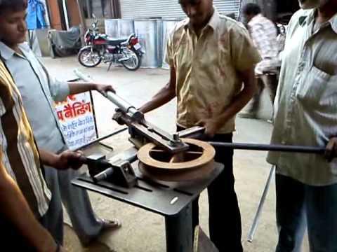 U Bending In A Steel Pipe Mp4 Youtube