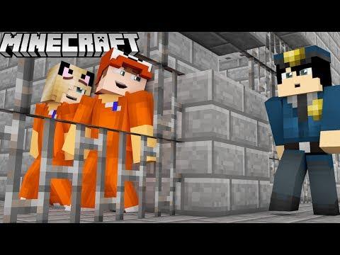 MINECRAFT - UCIEKAMY Z WIĘZIENIA! | Vito i Bella
