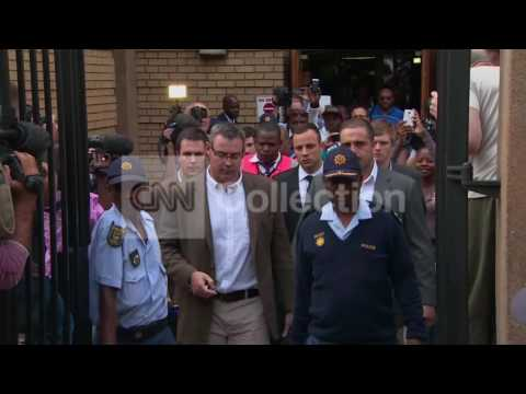 PISTORIUS-LEAVING COURT (WEDNESDAY)