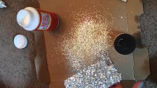Diy: Glitter Phone case