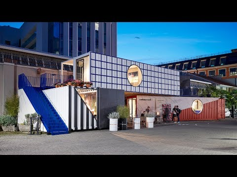 Containerwerk showcases potential of using shipping containers for housing