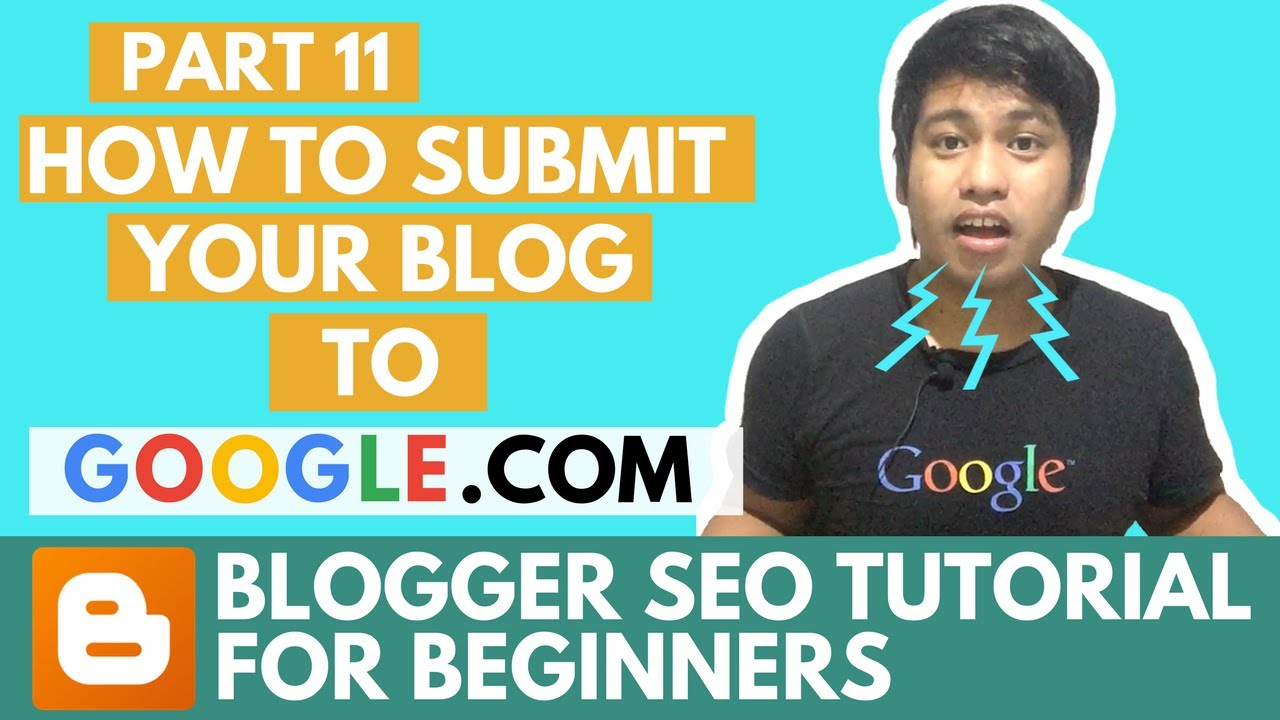 blogger seo tutorial how to submit your blog xml sitemap to google