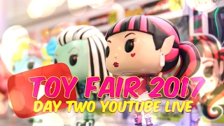 Toy Fair LIVE: Day 2 Walk Around with Froggy and Little Froggy pt.2