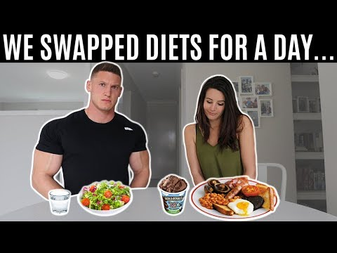 I swapped diets with my wife for a day and this is what happened…