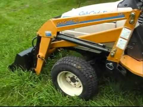 Cub Cadet 7200 Diesel 4x4 Hydro Garden Tractor YouTube
