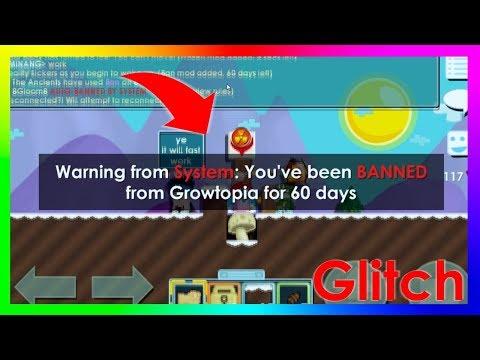 This Glitch Will BAN You - New Autoban Glitch 2018? - Growtopia
