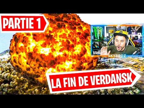 NUKE et DESTRUCTION de VERDANSK ! (LA FIN DE WARZONE) - PARTIE 1 Event Live