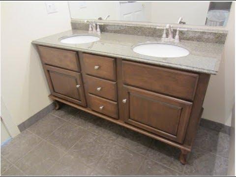 Bathroom Vanity with Legs, - YouTube