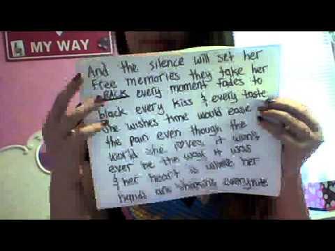 The Silence Mayday Parade lyrics