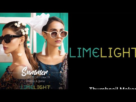 Limelight lawn vol 1 2019|| limelight pret collection||by Anum's Vlogz