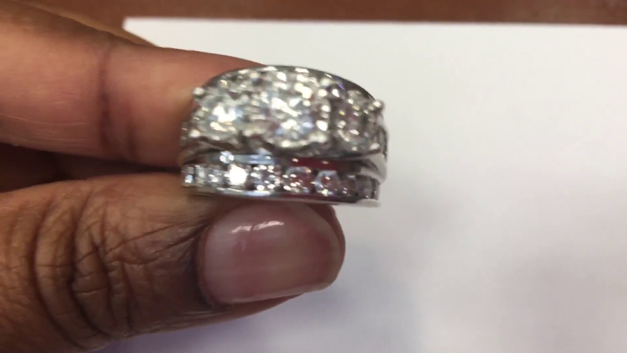 my past wedding present ct watch ring diamond future zales youtube rings