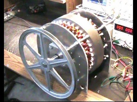 Low Rpm 5 Kw Generator Youtube
