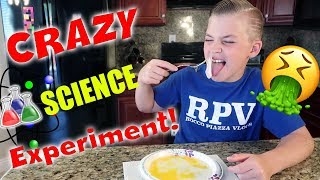 CRAZY SCIENCE EXPERIMENT