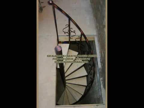 escaleras caracol usadas