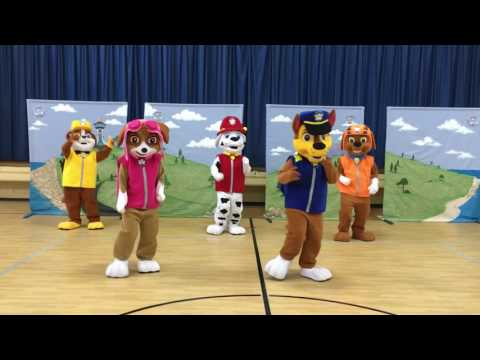Paw Patrol Dancing to Juju On That Beat