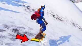 How to USE SNOWBOARD NOW WITH this glitch in Fortnite! (Bug Snowboard Fortnite)