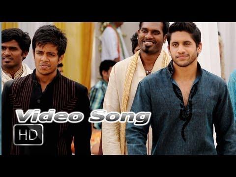 """Gana Gana Bottu Video Song """"'Tadakha Movie"""" - Naga Chaitanya, Sunil"""