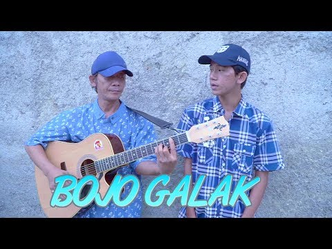 Sahrul Setiawan - BOJO GALAK (Cover Akustik Pengamen Jalanan Anak dan Ayah Suara Merdu)
