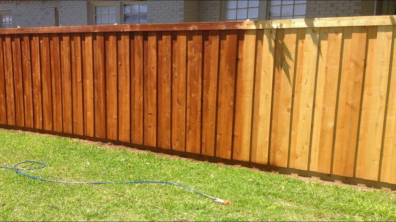 How To Treat Cedar Wood Fence