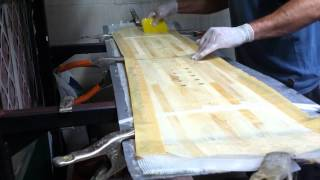 How To Build A Snowboard - Press Machine 2014
