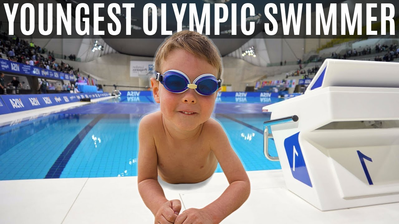 Download THE WORLD'S YOUNGEST OLYMPIC SWIMMER | Luca intro compilation