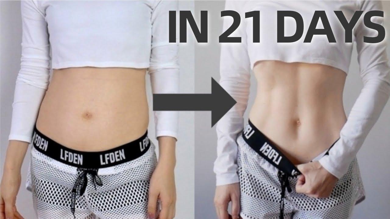 Get Abs in 21 DAYS   12 Min Beginner Friendly Abs Workout, No Jump, No Equipment