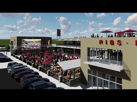 The University of New Mexico Sports Entertainment District