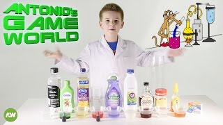 DENSITY TOWER - 9 layers liquid tower,  easy kids science experiment!