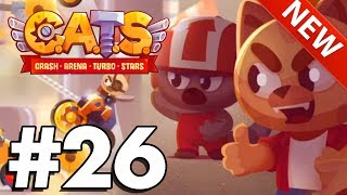 NEW CLANS UPDATE | C.A.T.S | Crash Arena Turbo Stars Gameplay Part 26!