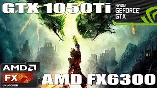 (1080p) Dragon Age: Inquisition - GTX 1050 TI - AMD FX 6300 -Benchmark ULTRA/HIGH/MED/LOW Settings