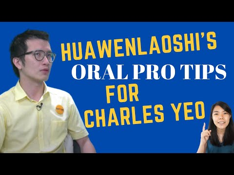 5 Oral Pro Tips for Charles Yeo (That's Non-Political)