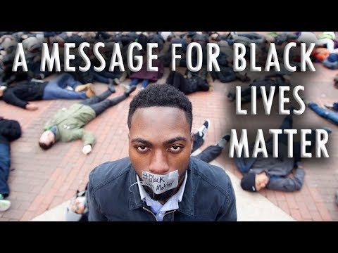 A Message for Black Lives Matter