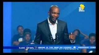 Mmusi Maimane elected new DA leader