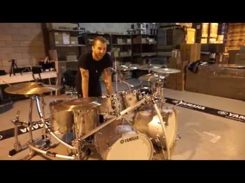 Neil's Dream Yamaha Drum Kit